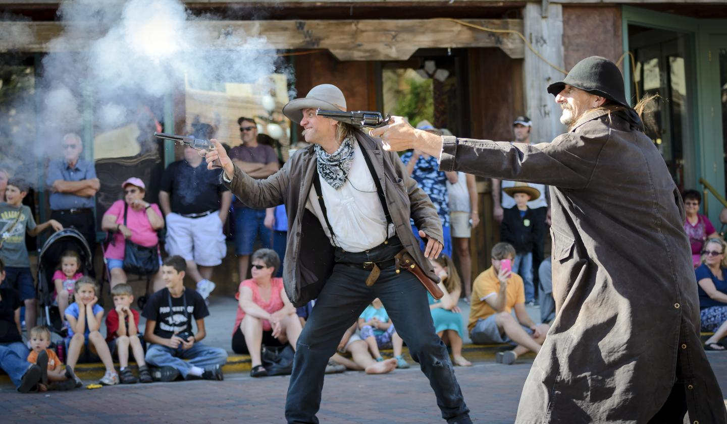 Deadwood Main Street shootout