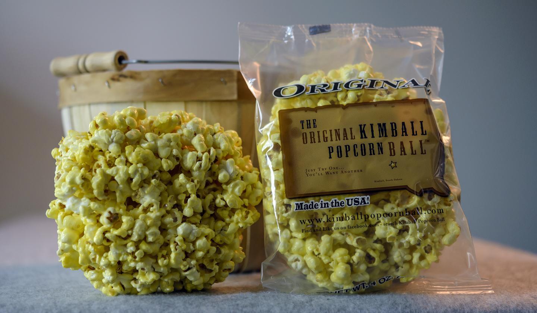 The Original Kimball Popcorn Ball
