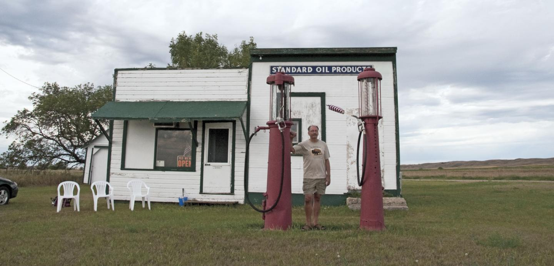 Old service station