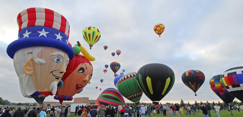 Great Plains Balloon Race, Sioux Falls