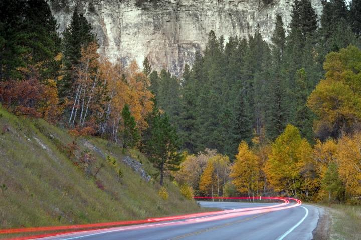 Spearfish Canyon State & National Forest Service Scenic Byway