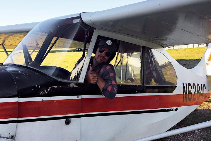 Spencer Spellman, Badlands flight