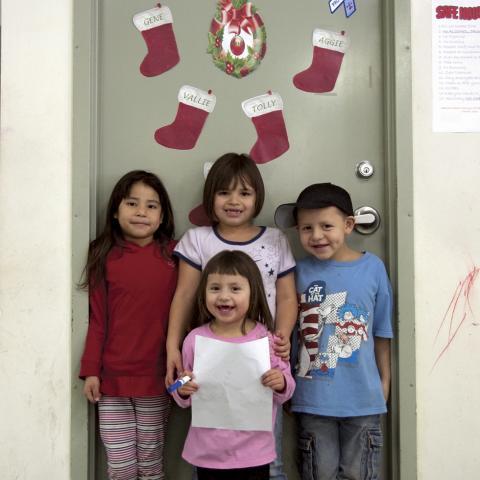 Crow Creek Christmas kids