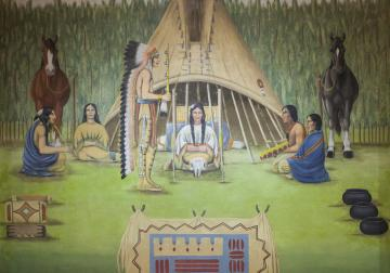 21607157 besides New Childrens Book Tells The Story Of Oscar Howe additionally Recent Work 3114 additionally John Harris moreover List. on oscar howe sioux falls