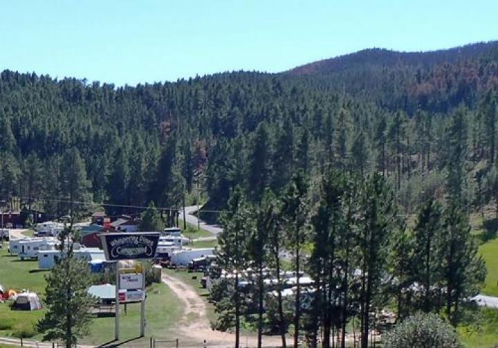 Whispering Pines Campground South Dakota Travel