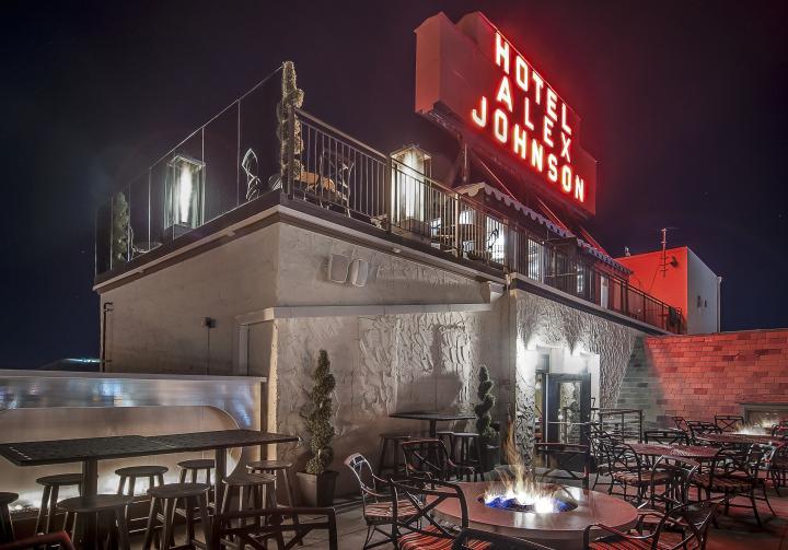 Hotel Alex Johnson Restaurant