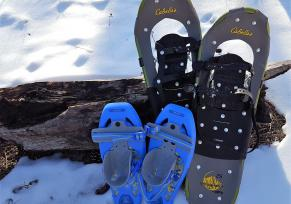 Jewel Cave National Monument, snowshoes